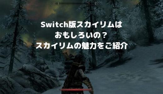Switch版のSkyrim(スカイリム)が面白い | バグが多いけど気にならないほど激ハマり